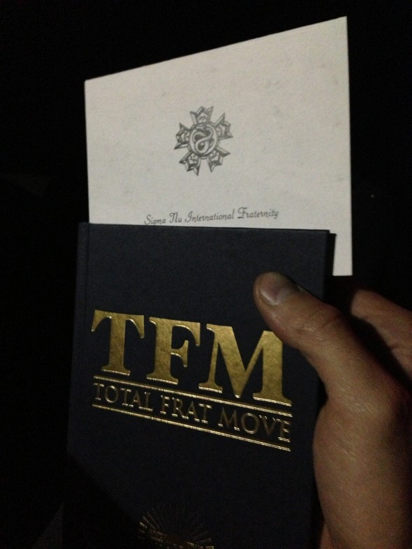 Bid card bookmark. TFM.