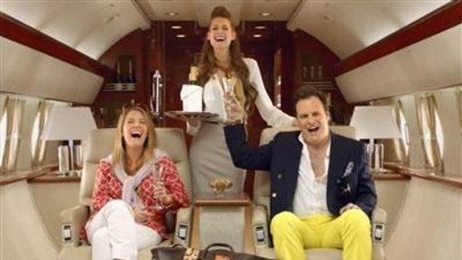 """""""More everything, sky waitress!"""" TFM."""