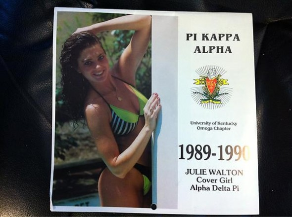 Having your own chapter swimsuit calendar. TFM.
