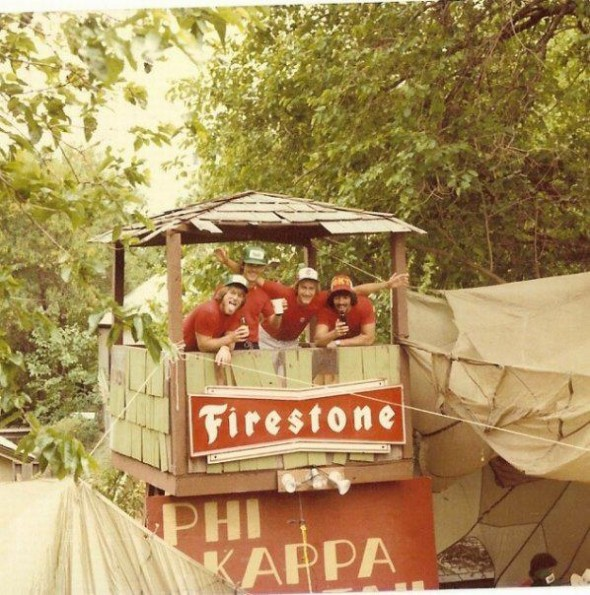 Vietnam themed party, back in the day. TFM.