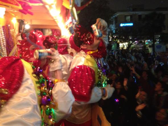 Mardi Gras. TFM.