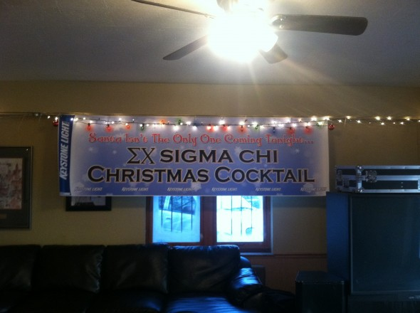This Sigma Cocktail banner. TFM.