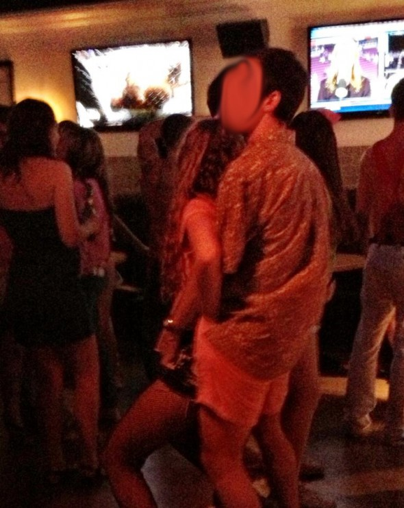 Getting an in-shorts old fashioned 20 minutes into the social. TFM.