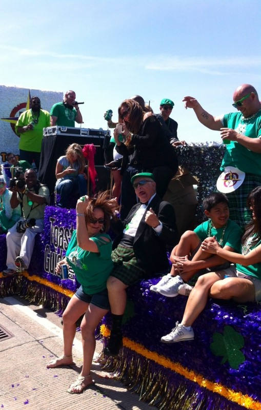 Grandpa knows how to do Saint Patrick's Day right. TFM.