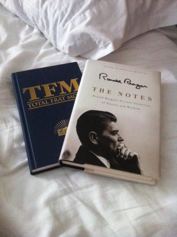 Reading material for the plane ride. TFM.