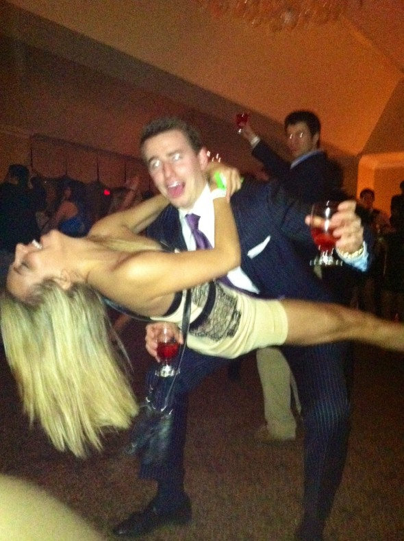 High degree of difficulty double-fisting. TFM.