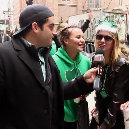 """Frat Dude"" Crushes St. Patrick's Day Parade"