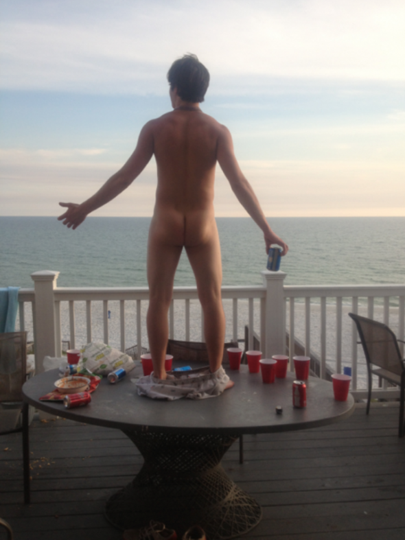 Greeting the day. TFM.