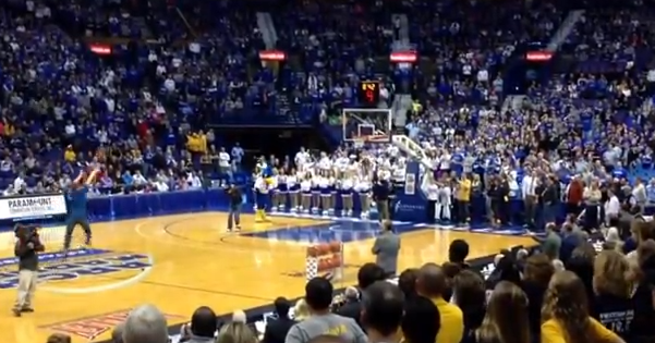 College Student Prematurely Celebrates After Sinking Half-Court Shot, Misses Out On $50,000