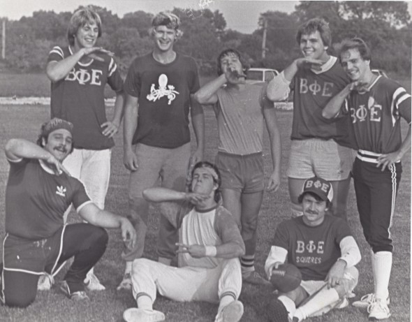 Intramural football in the 80's. TFM.