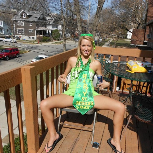St. Patrick's Day in Madison last year was the best darty I've ever been a part of. TFM.