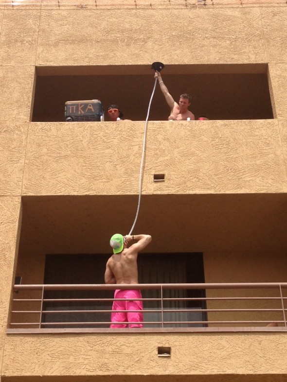 Breakfast in Havasu. TFM.