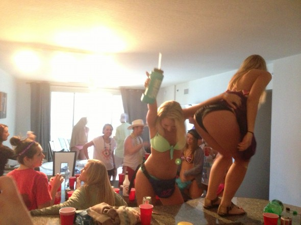 Getting weird in the condo. TFM.