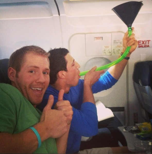 Raging at 30,000 feet. TFM.
