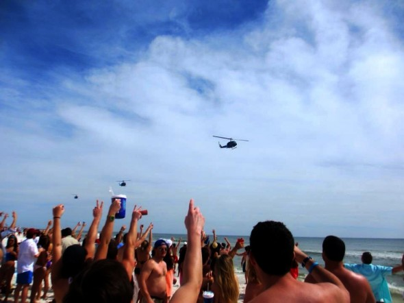 Supporting the troops in Destin. TFM.