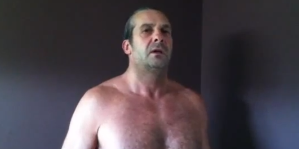 Shirtless, Middle-Aged Lunatic Creates OKC Thunder Fight Song In YouTube Video