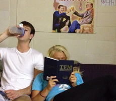 When the slam reads you a bedtime story. TFM.
