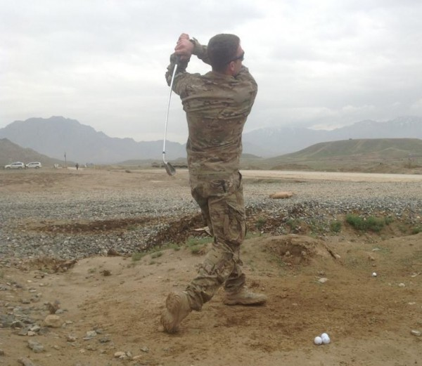 Driving range, Afghan style. TFM.