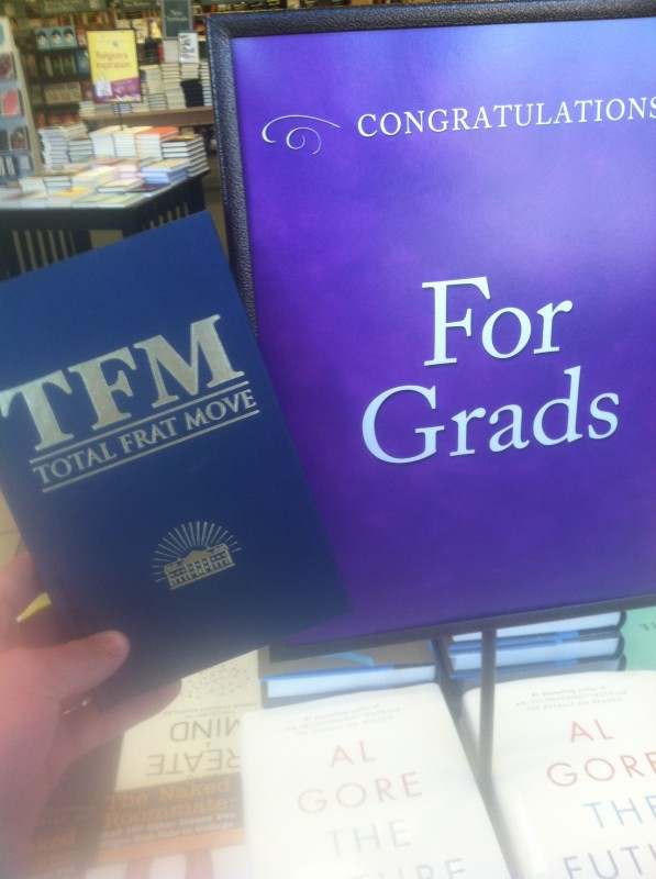 For grads. TFM.