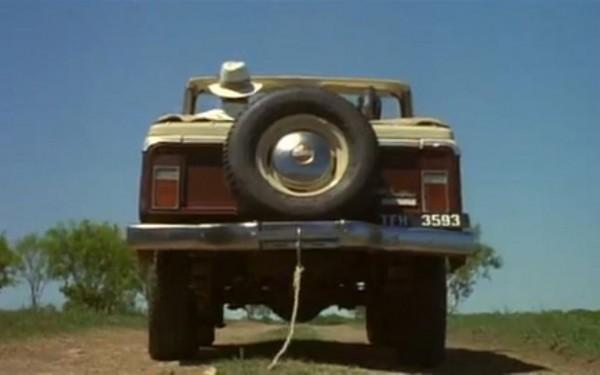 Burton Quinn's license plate from Ace Ventura: When Nature Calls. TFM.