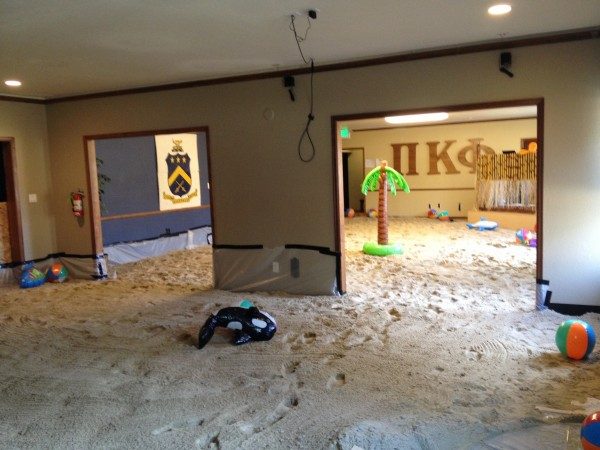 20,000 pounds of sand later. TFM.