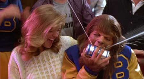 Teen Wolf'ing your beer. TFM.