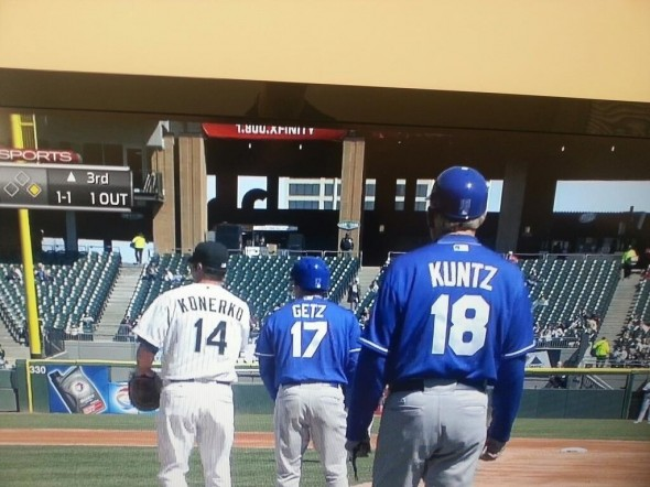 Konerko gets cunts. TFM.