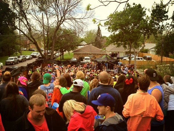Baylor Dia 2013 with Phi Delt and the Ying Yang Twins. TFM.