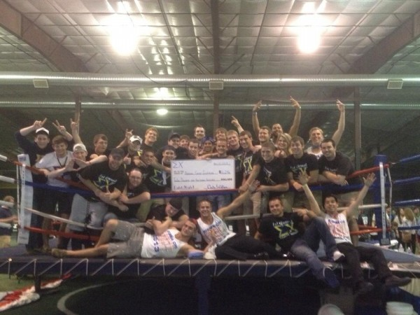 Raising over $12,000 for cancer research. TFM.
