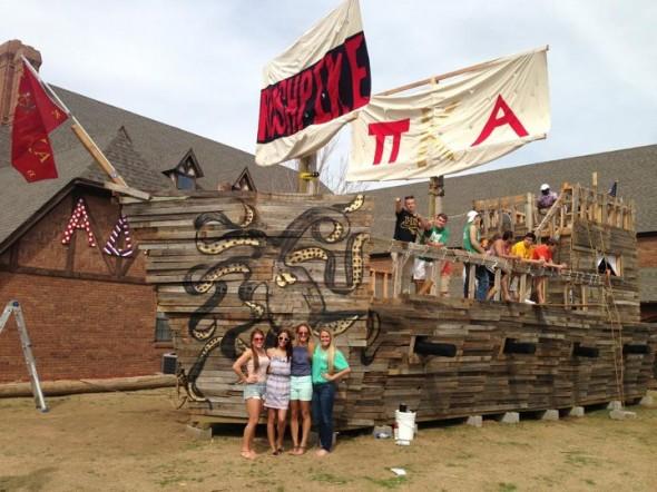 We built a boat. TFM.