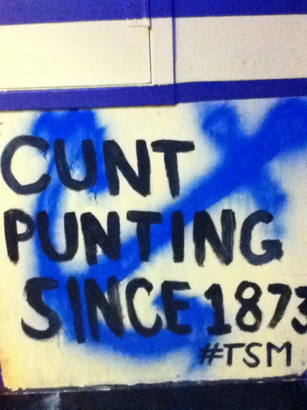 For our philanthropy we have sororities tag our basement walls...and this is what DGs decided to do for theirs. TFM.
