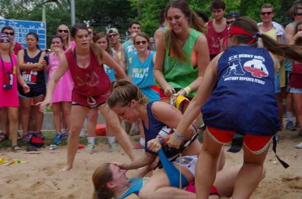 When Sigma Chi Derby Days gets real. TFM.