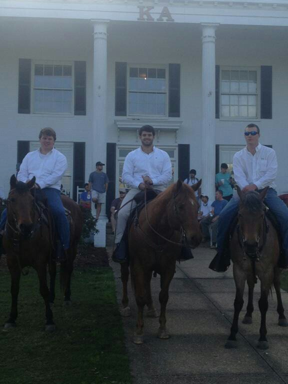 Getting ready to deliver Old South invitations the right way. TFM.