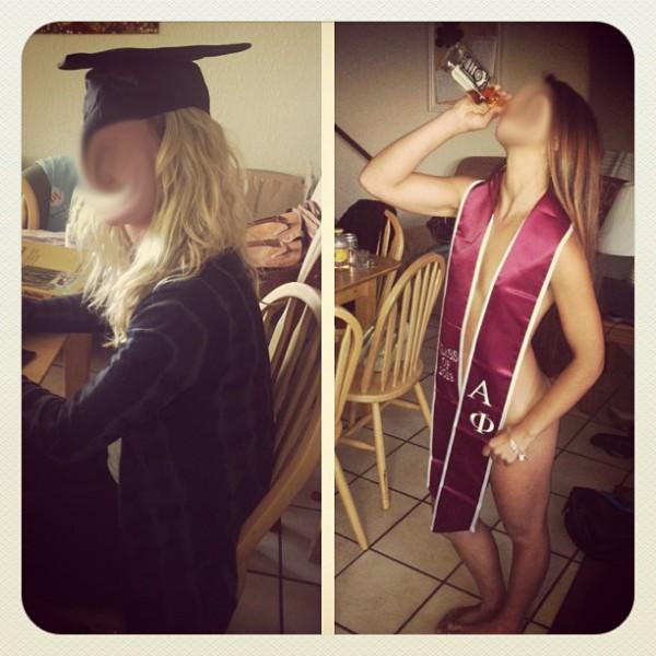 The graduation pregame. TFM.