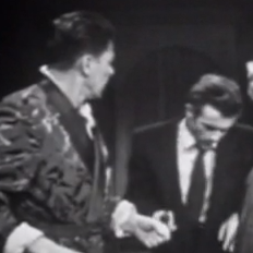 Ronald Reagan And James Dean Square Off In Rare Footage