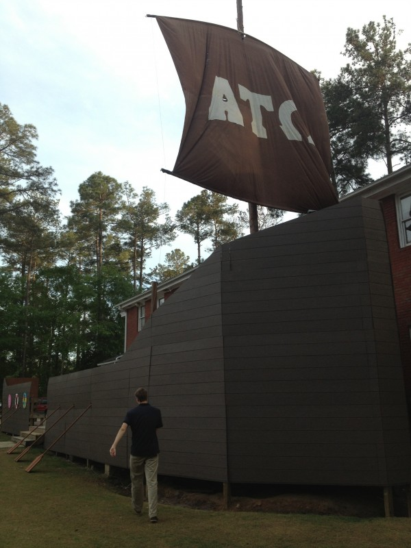 We got bored. So we built a boat. TFM.
