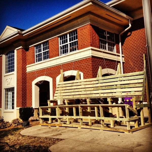 Having the biggest frat bench on campus. TFM.