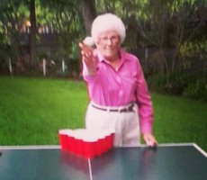 Grandma celebrating her 83rd Birthday. TFM.