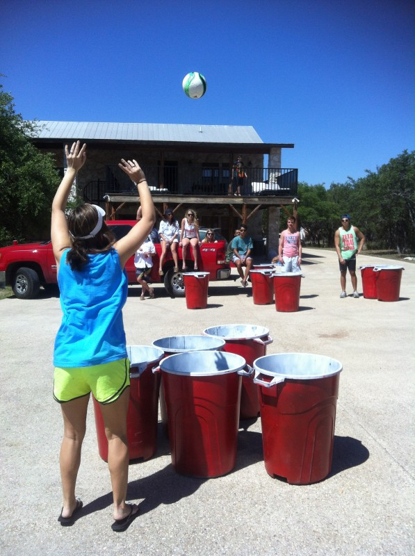 Even our beer pong is bigger in Texas. TFM.