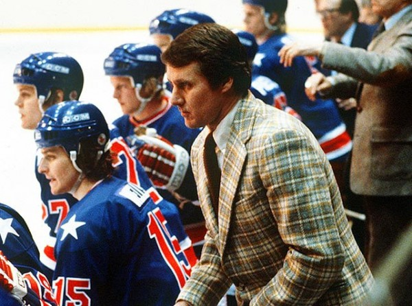 Herb Brooks blazer while coaching the 1980 US Hockey team to Olympic Gold. TFM.