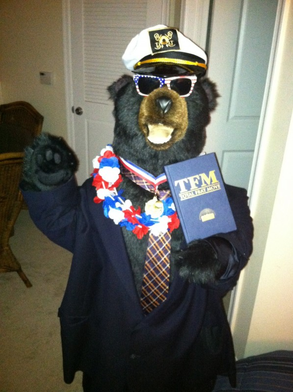 Ready to pledge. TFM.