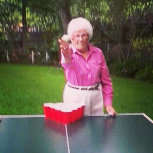 Grandma celebrating her 83rd Birthday. TFM.