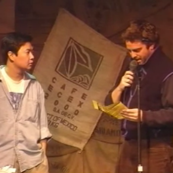 Galifianakis And Asian From The Hangover Do Comedy Together In 1998