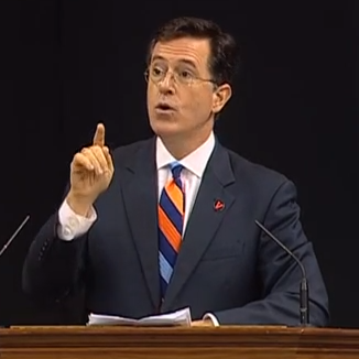 Stephen Colbert Delivers 2013 Valedictory Address At University Of Virginia