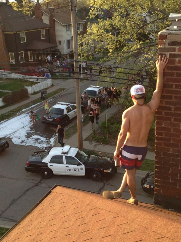 Fuck finals and the police. TFM.