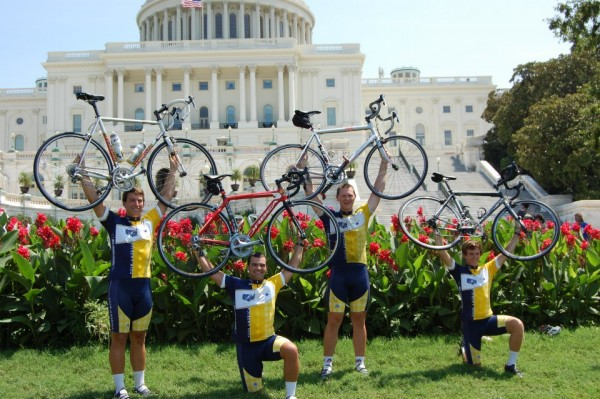 Cycling cross-country and raising $705,000 for people with disabilities. TFM.