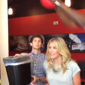 Charissa Thompson Posterized By DeAndre Jordan At ESPN