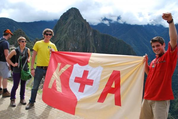 Machu Pichu or something. TFM.