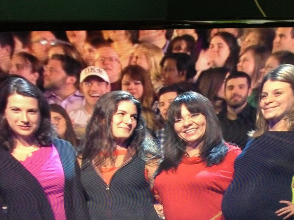 Photobombing on The Wheel of Fortune. TFM.
