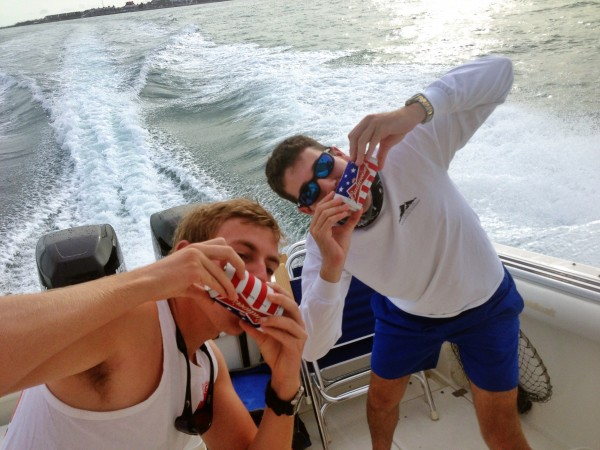 7am pre-fishing shotguns. TFM.